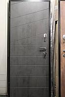 Двери бронированные Люкс Диагональ бетон