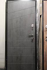 Двері броньовані Люкс Діагональ бетон
