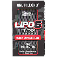 Nutrex Research Жиросжигатель Nutrex Research Lipo-6 Black Ultra Concentrate, 60 капс.