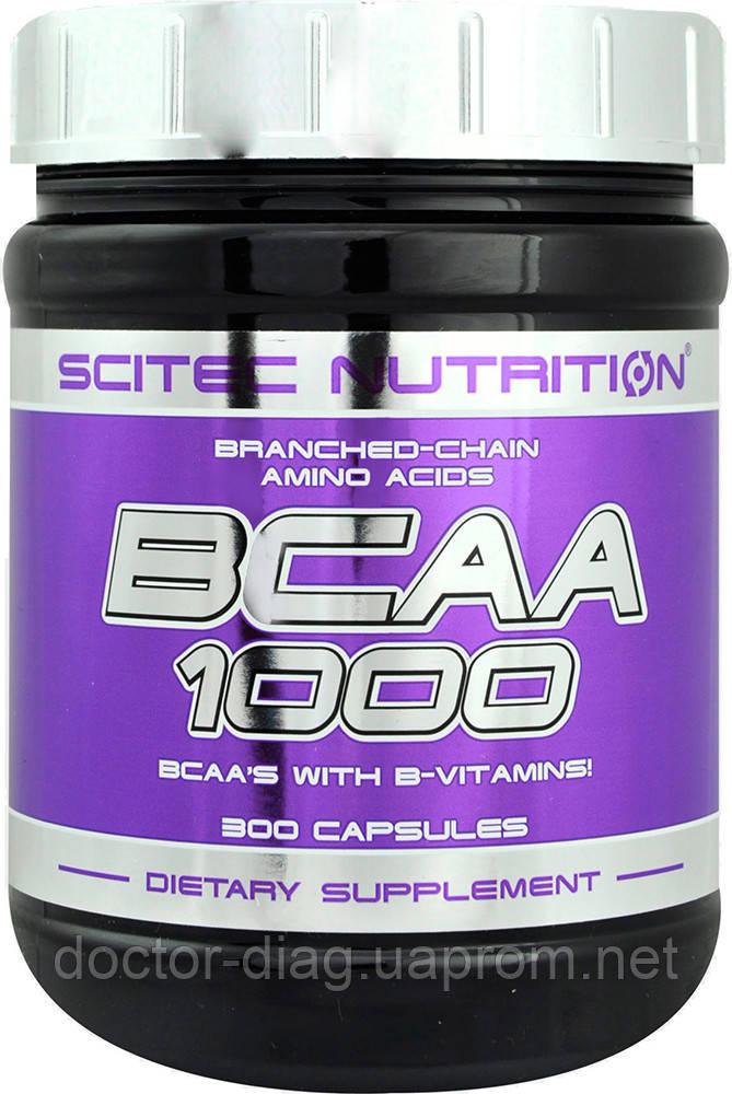 Scitec Nutrition Аминокислоты Scitec Nutrition BCAA 1000, 300 капс.