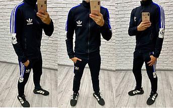 """Мужской трикотажный спортивный костюм """"Dirk"""" с лампасами (2 цвета), фото 2"""