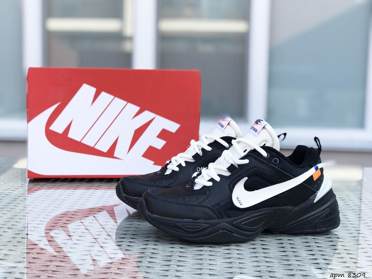 Подростковые кроссовки Nike M2K Tekno,черные с белым