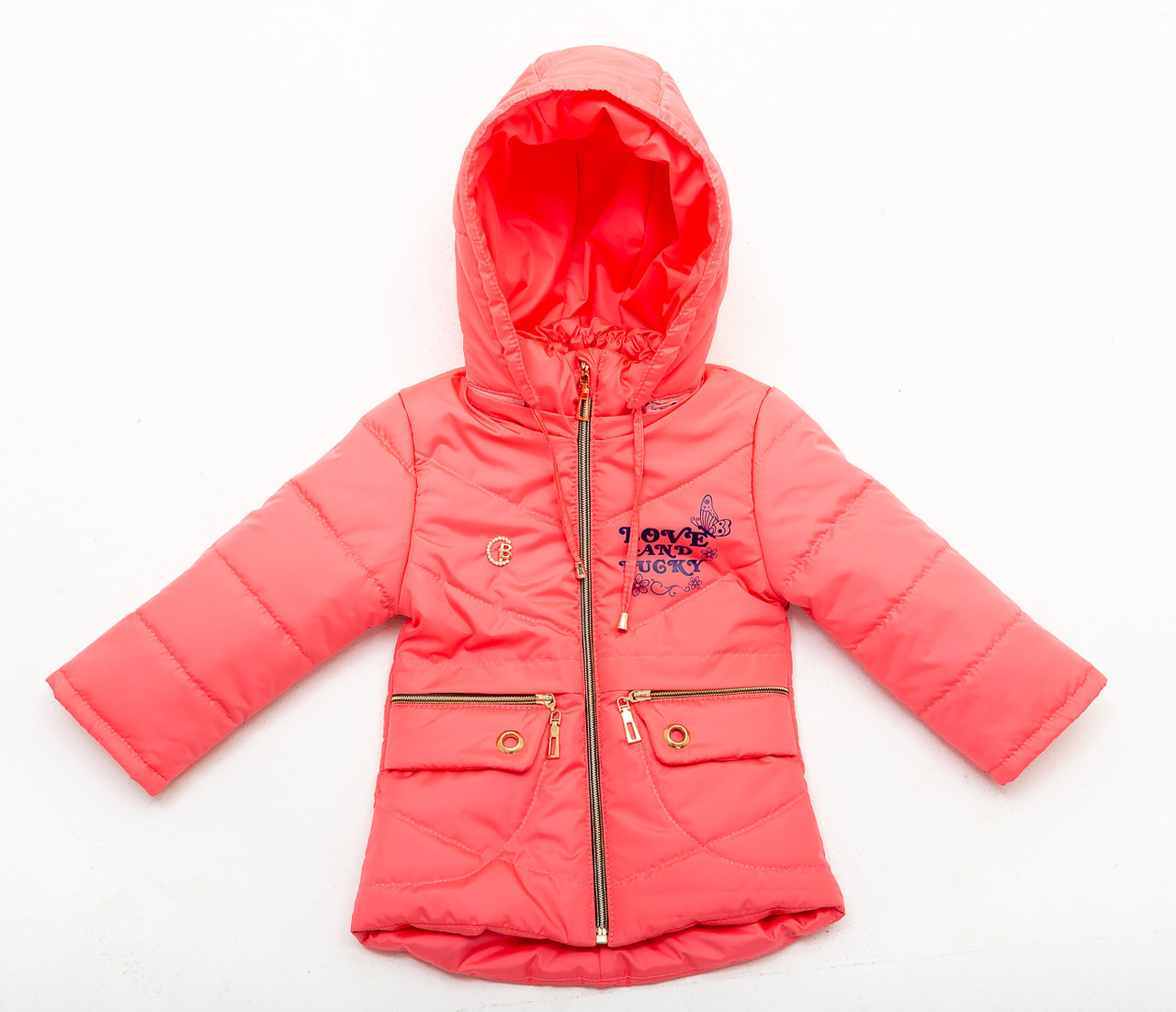 Куртка демисезонная для девочки «Бабочка»