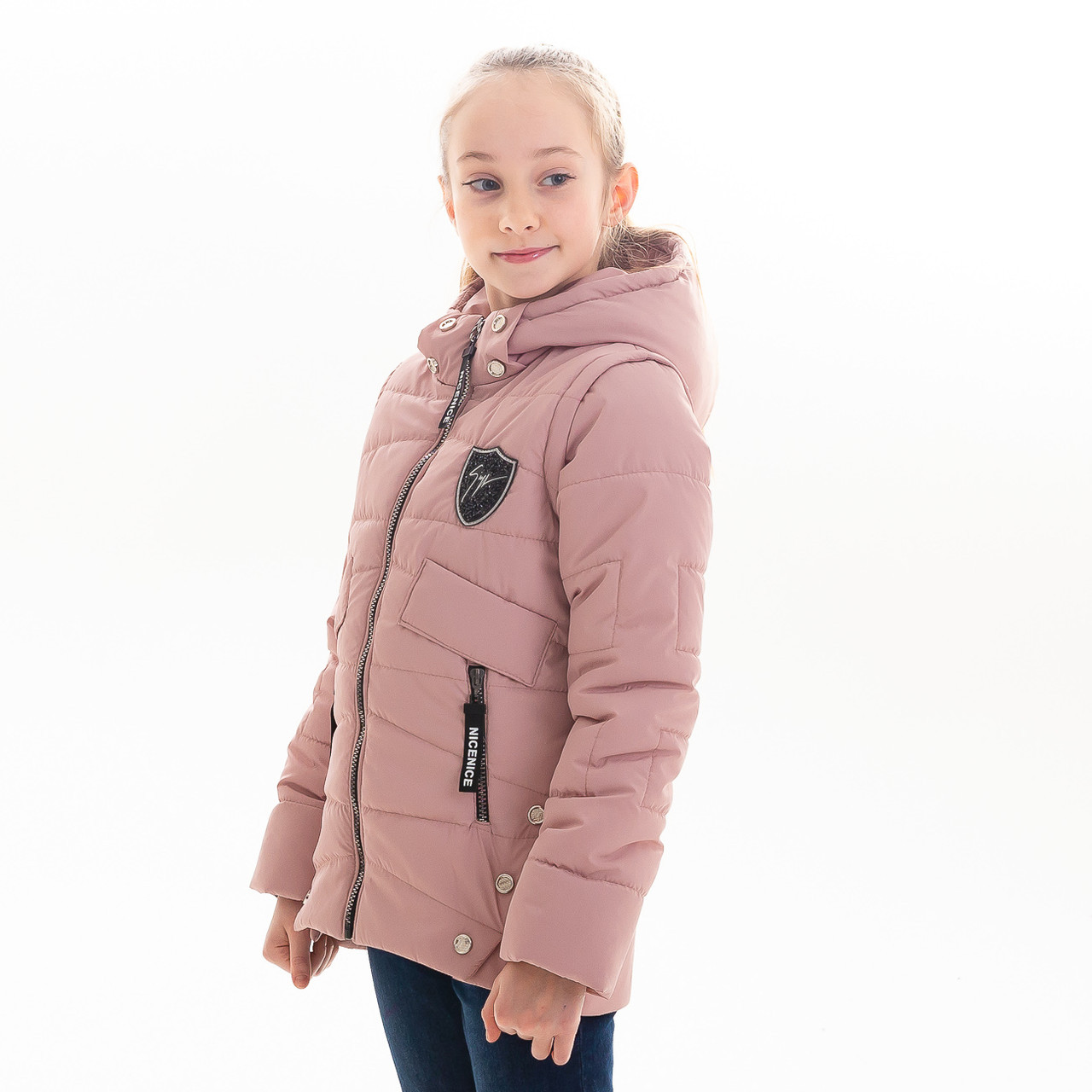 Куртка-жилет для девочки «Ниса»