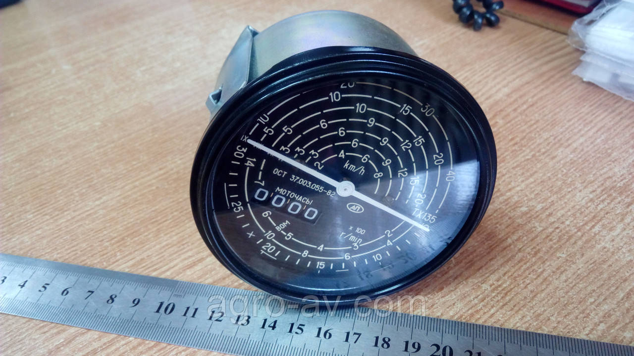 Тахоспидометр с приводом от гибкого вала (ТХ135-3813010) МТЗ (пр-во Владимир)
