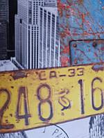 """Флизелиновые обои Decoprint WU20645 What""""s up молодежные детские лофт модерн мегаполис дома знаки решетки, фото 1"""