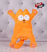 """Мягкая игрушка Кот Саймона, плюшевый кот, """"Simon's Cat"""", игрушка кот на присосках"""