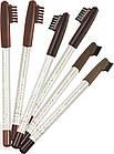 Карандаш для бровей Flormar Eyebrow Pencil № 401 - св.коричневый, фото 4