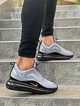 Чоловічі кросівки Nike Air Max 720 Cool Grey, фото 3