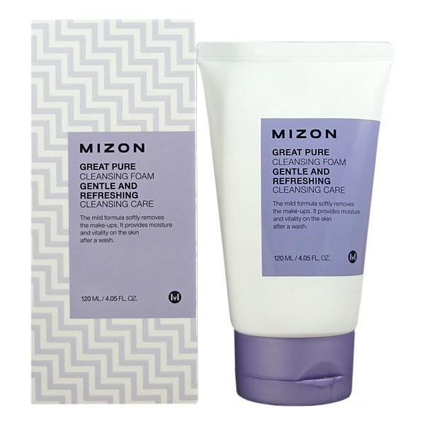 Пенка для умывания чувствительной кожи Mizon Great Pure Cleansing Foam