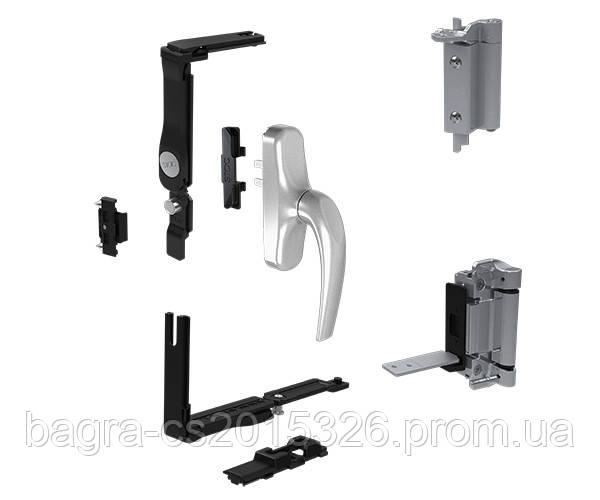Комплект фурнітури до алюмінієвих вікон EVO-SOFT (Іспанія)