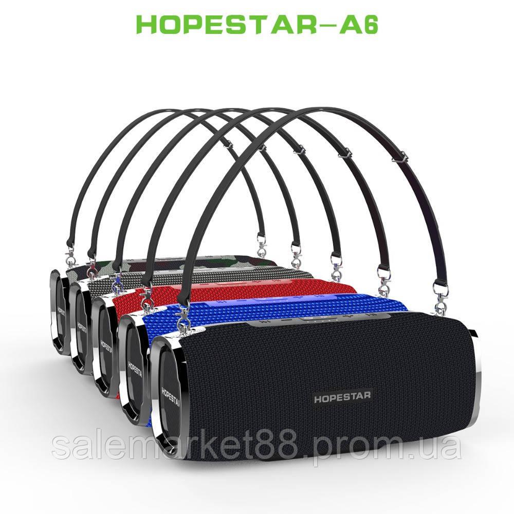 Мощная портативная bluetooth колонка Sound System A6 Pro Original Hopestar 35 ВТ