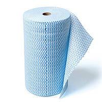 Промышленные рулонные салфетки Unitex Tytan, 32 x 39 см, рулон 300 шт, синие