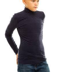 Гольф толстовка подростковый тёмно серый