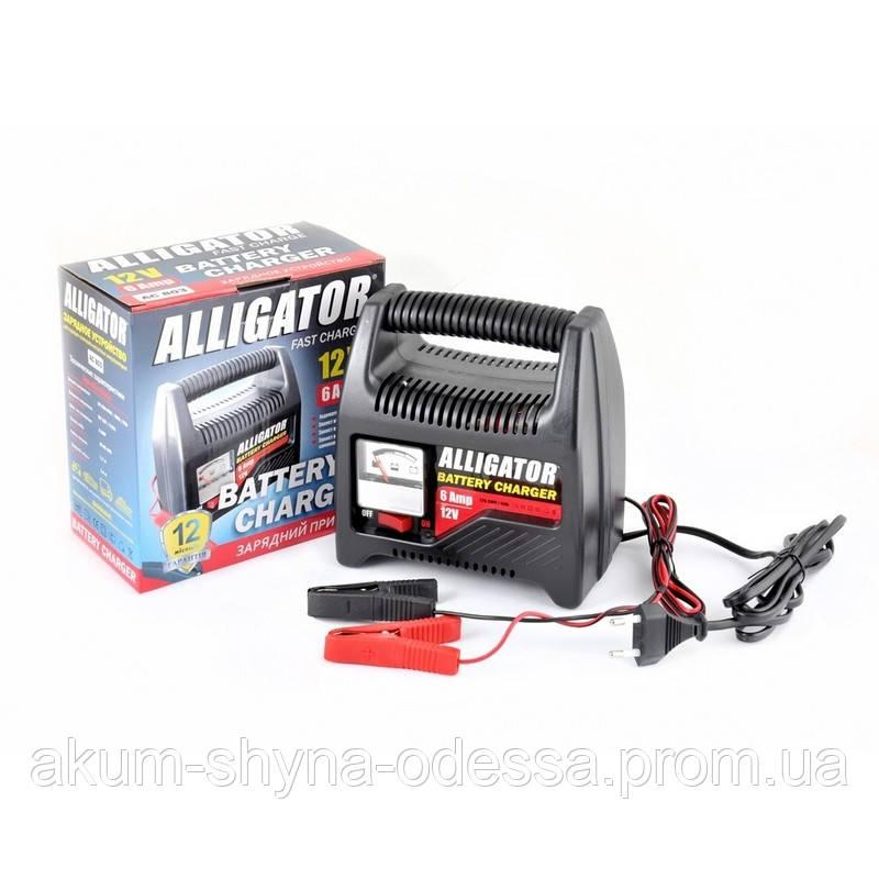 Зарядное устройство Alligator AC803 6V/12V 6A