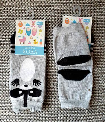Носочки хлопковые детские серого цвета  ТМ Легка хода  (Украина)  размер 10 12, фото 2