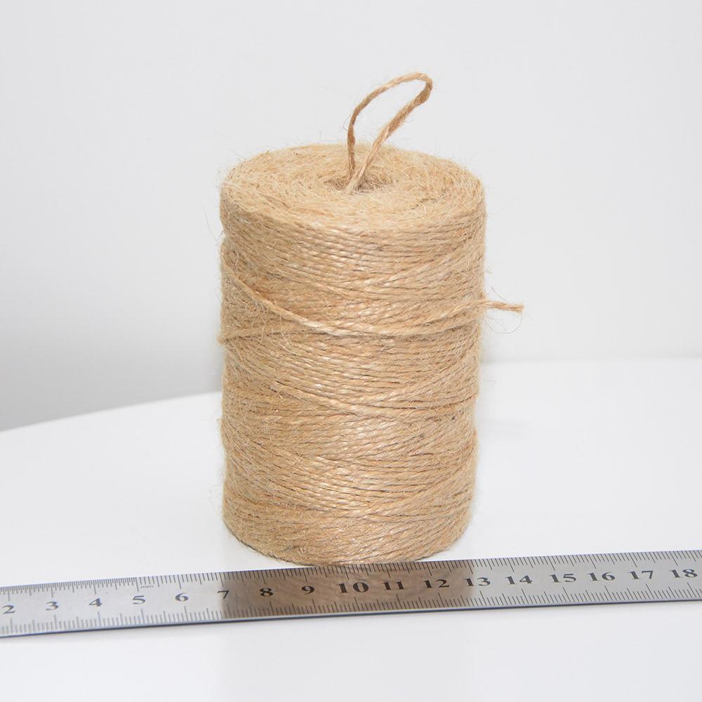Шпагат джутовый 150 г, 1.5 мм, 2 нити