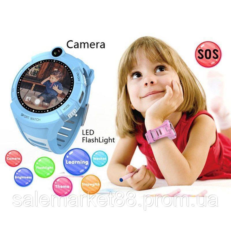 Детские Умные - Часы с  GPS трекером MOD-Q610