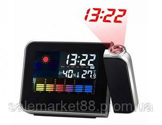 Часы, домашняя метеостанция с проектором ART-8190 в офис