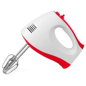 Ручний кухонний міксер WimpeX WX-435 на 7 швидкостей, вінчики для збивання, вінчики для замісу тіста, фото 2
