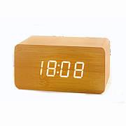 Настольные часы от сети+батарейка ART-863