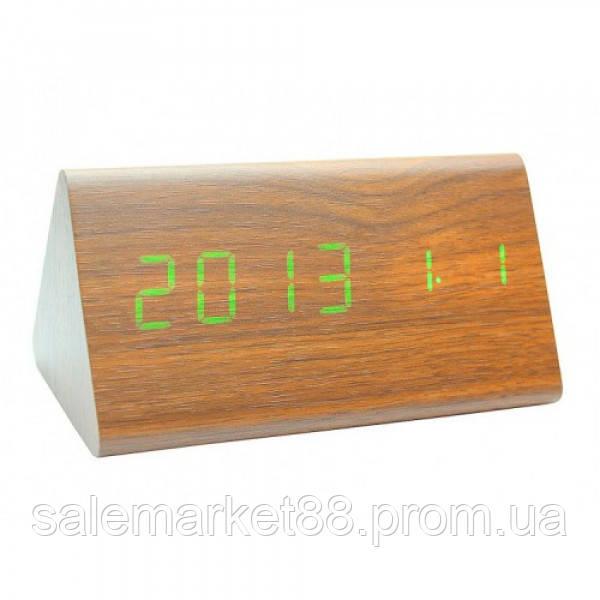 Настольные часы от сети+батарейка ART-861