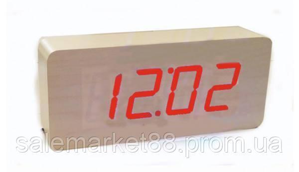 Настольные часы от сети+батарейка ART-865