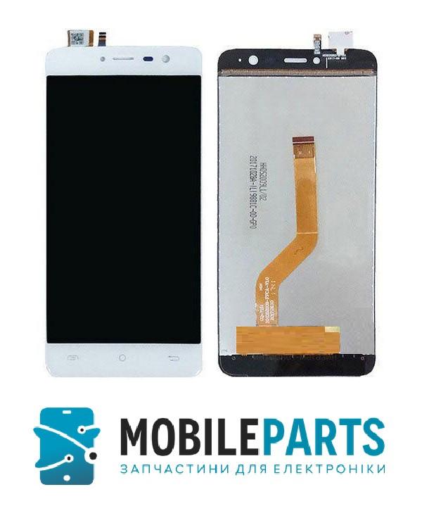Дисплей для Cubot Note Plus с сенсорным стеклом (Белый) Оригинал Китай