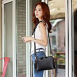 Небольшая женская сумка через плечо. Маленькая сумочка, клатч., фото 3