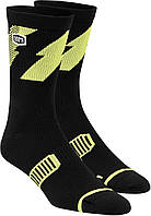 Носки для cпорта Ride 100% BOLT Performance Socks [Lime], S/M