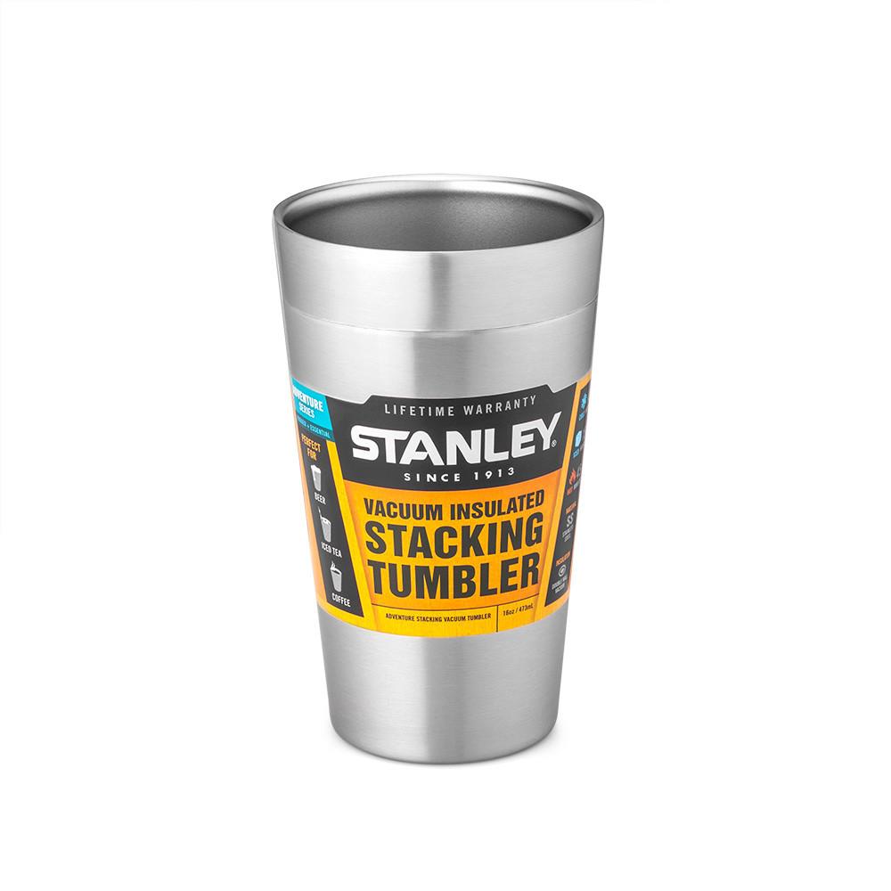 Термочашка Stanley Adventure Stacking 0.47 л (Стальная)
