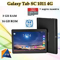 """Недорогой Планшет-Телефон Galaxy Tab SC1011 4G 10.1"""" IPS 16GB ROM GPS + Карта памяти 32GB, фото 1"""