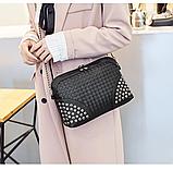 Женская сумка через плечо. Небольшая сумочка, клатч., фото 8