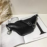 Молодежная женская сумка на пояс. Сумка-бананка. Поясная сумка., фото 6