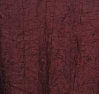 Портьерная ткань жатка темно-бордового цвета