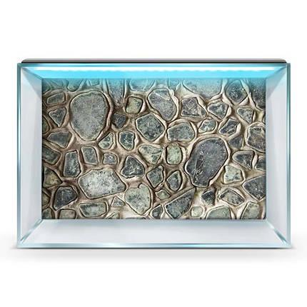 Яркая наклейка в аквариум с морским миром 40х65 см., фото 2