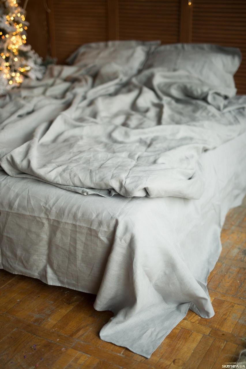 """Комплект полуторный постельного белья ТМ """"Ловец снов"""", Серая гавань"""
