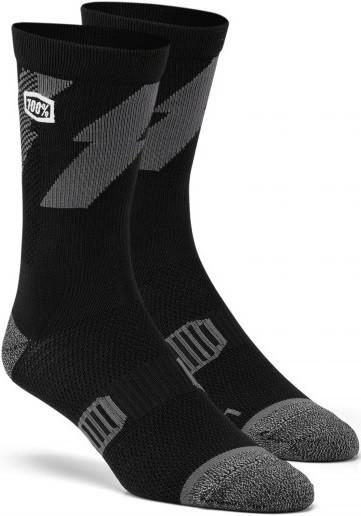 Носки для cпорта Ride 100% BOLT Performance Socks [Black], L/XL