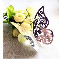Декор для украшения бокалов, свадебные зеркало Silver