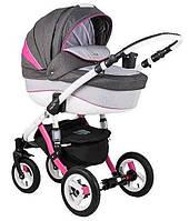 Универсальная  коляска 2 в 1 Adamex Gloria Rainbow Collection Pink