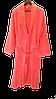 Турецкий махровый женский халат коралл, большой размер 100% Хлопок, фото 3