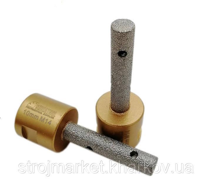 Алмазная фреза для увеличения отверстия в плитке, УШМ(М14)