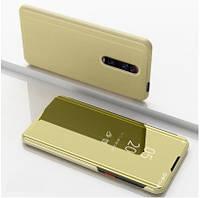 Чехол-книжка Mirror для Xiaomi Mi 9T / Mi 9T Pro / Redmi K20 Зеркальная Золотой
