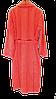 Турецкий махровый женский халат коралл, большой размер 100% Хлопок, фото 5