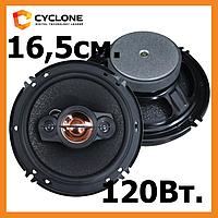 Акустика для авто CYCLONE JX-162, 16 см., 2-х полос, 120 Вт