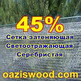 Серебристая сетка 1,5м энергосберегающая светоотражающая 45%, фото 5