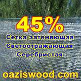 Серебристая сетка 1,5м энергосберегающая светоотражающая 45%, фото 6