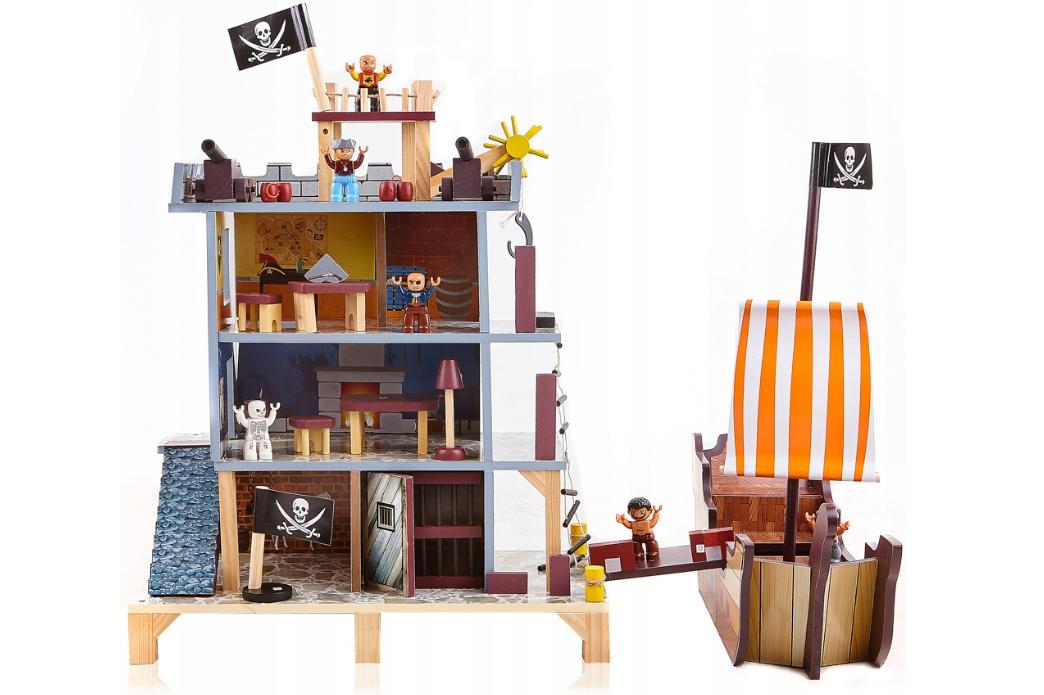 Кукольный домик aGa4kids Пиратская крепость 63284
