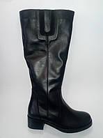 Женские кожаные зимние сапоги ТМ Камея, фото 1