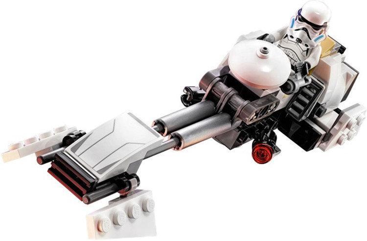 Конструктор Bela 10369 аналог LEGO Star Wars Скоростной Спидер Эзры Бриджера 252 детали